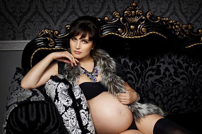 Фото красавица беременная